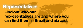 Representatives - Find out who our representatives are and where you can find them in Brazil and abroad.